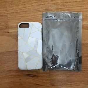 """society six marble """"tough"""" phone case"""